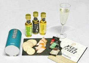 Food and Wine at Fizz Feast