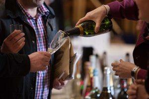 Wine Tasting at Fizz Feast
