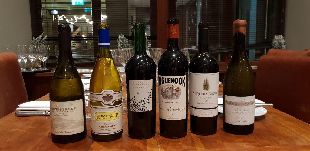Napa in November Wine Tasting Dinner